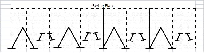 スイングフレアスクラッチ(Swing Flare Scratch)